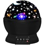 Moon and Stars Night Light Projector Constellation Lamp: Profile Image