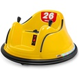 Kids Electric Bumper Car with Lights by Kidzone (Yellow) (B08217LMZ2), Amazon Price Tracker, Amazon Price History