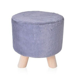 Vanity Soft Furry Ottoman Nursery Wooden Step Stool Padded Seat Foot Rest (124216272689), eBay Price Drop Alert, eBay Price History Tracker