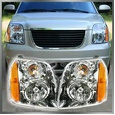 Headlights Headlamps Left & Right Pair Set of 2 for 07-14 GMC Yukon SUV (371041610504), eBay Price Tracker, eBay Price History
