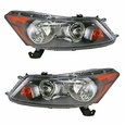 Front Headlights Headlamps Lights Lamps Pair Set for 08-12 Honda Accord Sedan (371754038256), eBay Price Tracker, eBay Price History